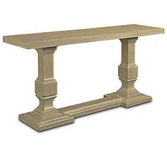 Acclamations - Salute Console Table (Weathered Linseed finish)