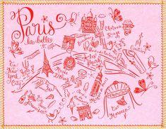 Couture map Parijs