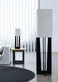 The new EROS lamps made of lacquered Valchromat®, have a square geometry, modern and innovative. There are two references: floor lamp and table lamp. The design was created by the Envy ´s designers and specially developed for a chic, dynamic and modern style. Its structure was also designed and tested for stability purposes. Their strong presence makes them perfectly suited for bedroom, living room or entrance area, especially to be used together.