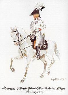 Cavalry Commander (Flügeladjutant) parade dress, 1813
