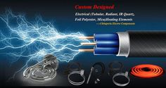 Custom designed electrical heating elements at Chhaperia Electro Components Pvt. Ltd. http://bit.ly/2pHJQzj, +91-80-41171552