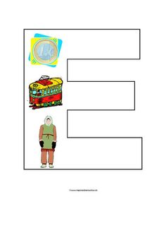 E Spelling Games, Letter Of The Week, Preschool Themes, Learning Activities, Coloring Pages, Homeschool, Language, Teacher, Letters