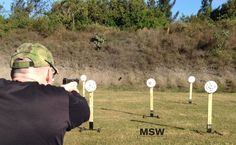 shooting static steel to improve target to target transitions