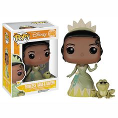 Disney Princess And The Frog POP Tiana And Naveen Vinyl Figures