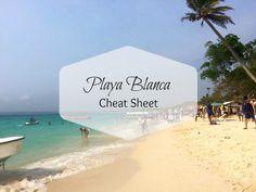 The Playa Blanca Cheat Sheet for Cartagena Beach Goers