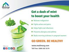 Website: www.medimarg.com ‪#‎Boost_your_health_with_mint‬ ‪#‎medimarg‬
