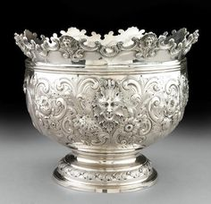 Victorian Silver Monteith