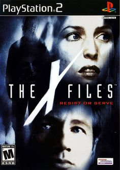 The X Files: Resist or Serve / Playstation 2 Playstation Games, Ps4 Games, Arcade Games, Ps3, Clarice Starling, David Duchovny, Gillian Anderson, Paranormal, Juegos Ps2