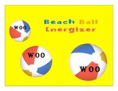 Children's Choir Warm Up. Children's Choir Vocalise. Children's Choir Game. Have fun warming up those voices with a day at the beach. Use a beach ball to enhance the excitement of this warm-up. This one is particularly boy friendly. Use this in your choir or music class to get the blood flowing and the voice ready to sing. POWERPOINT SLIDE w/ instructions.