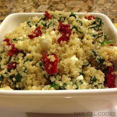 Recipe: Sundried Tomato & Spinach Quinoa