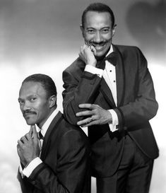 The Nicholas Brothers:  Harold and Fayard     ALWAYS LOVED WATCHING THEM DANCE.......SO GREAT..............ccp