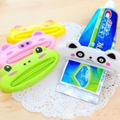 Toothpaste Clip Squeezer Creative Cute Cartoon Animal Design. Multifunctional Toothpaste Clip Squeezer Creative Cute Cartoon Animal Design  Specifications: Material: Plastic Color: please choose the pattern when you check out Item size: 8.5* 4cm. Item weight: about 20g  Package includes: 1 *toothpaste clip squeezer