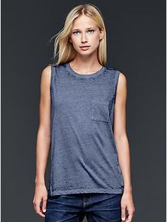 classic everyday tank - wear alone or with a cardigan/jacket