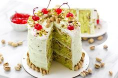 Recipe: Pistachio Dream Layer Cake