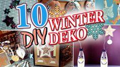 10 DIY DEKO IDEEN für WEIHNACHTEN & WINTER | schnell & einfach - YouTube Neon Signs, Winter, Youtube, Ideas For Christmas, Christmas Time, Decorating Ideas, Make Your Own, Projects, Simple
