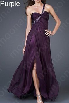 Purple Evening Bridesmaid Wedding Cocktail Party Prom Long Dress Gown LF023-in Evening Dresses from Apparel & Accessories on Aliexpress.com $50.05!!!!!!