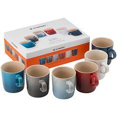 Buy Le Creuset Coastal Mug Set Online at johnlewis.com