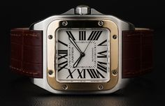 Cartier Santos 100 - timeless classic from the house of legend