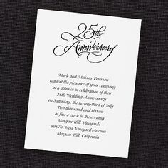 110 Best Anniversary Invitation Cards Images In 2013 Invitation