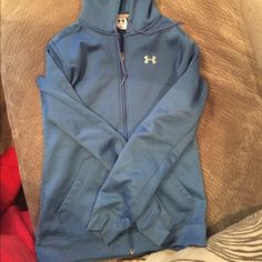 Under Armour Hoodie Women's under armour hoodie size small. In good condition. Under Armour Jackets & Coats
