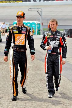 Kasey Kahne and Joey Logano. My two favorite NASCAR drivers! #22 #5 <3