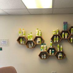 Set of 5 Medium Deep Hexagon Shelves, Honeycomb Shelves, Floating Shelves, Geometric Shelves Decor, Shelves, Geometric Shelves, Floating Shelves, Hexagon Shelves, Honeycomb Shape, Floating, Home Decor, Hexagon