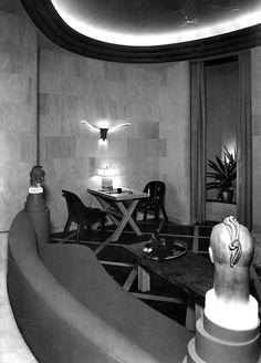 William Haines' Desert Living Room design for the 1939 Golden Gate International Exposition in San Francisco.