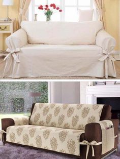 This type of diy furniture garden is absolutely a noteworthy design alternative. Sofa Covers, Diy Furniture, Slipcovers For Chairs, Sofa, Diy Sofa Cover, Home Decor, Diy Couch Cover, Home Diy, Diy Sofa