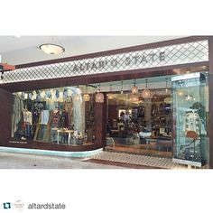 What a beautiful installation of our #enigma #sextant #tiles on the store front of the @altardstate store in Raleigh, NC #Repost #woodtile #retailtherapy #woodwall #commercialdesign @repostapp. ・・・ The grand opening of our new store at Crabtree Valley Mall is today! Come visit this beautiful new store in Raleigh, NC. #newstore #altardstate #standoutforgood #crabtreevalleymall #raleigh