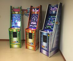 VPCabs' amazing new home arcade machine uses a 32 vertical display to play both virtual pinball and arcade games. A 15.6 secondary display displays game marquees and doubles as a pinball scoreboard. Includes all current Pinball FX2 tables, and 60 arcade classics.