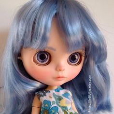 Un preferito personale dal mio negozio Etsy https://www.etsy.com/it/listing/479222183/ooak-custom-blythe-doll-fake-pamela
