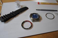 SKX009 - modding into holiday watch