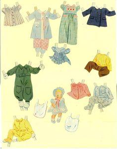 Paper Dolls~Four Mothers & Their Babies - Bonnie Jones - Picasa Web Albums