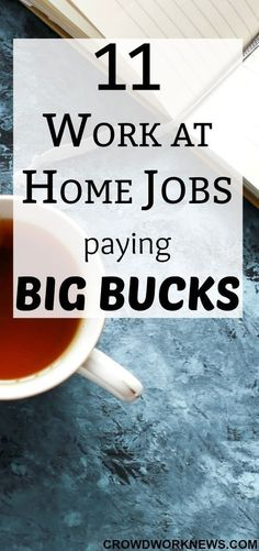 It is POSSIBLE to earn a great income from work from home jobs. Want to know which jobs give such a great income? Click through to check out the list of online jobs which pay big bucks.