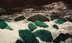 O Rio | 370 x 200 cm | óleo s/ tela | 2013