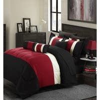 Shop Gracewood Hollow Maqqari Dark Blue 11-piece Bed in a Bag Comforter Set - On Sale - Overstock - 19972935 - Queen Black Comforter Sets, Queen Comforter Sets, Bedding Sets, Navy Comforter, Black Bedding, Bed Sheet Sets, Bed Sheets, Hotel Collection Bedding, Online Bedding Stores