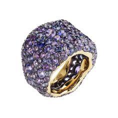 Fabergé Emotion Violette Ring #TheArtOfColour