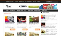 News Magazine Blogger Template é um template blogger para blog de noticias, revista, tecnologia e etc. Com layout simples, News Magazine tem 2 colunas, 1 sidebar direita, 2 menus horizontal, resumo de postagem leia mais, posts relacionados, locais para posicionar anúncios e muito mais.