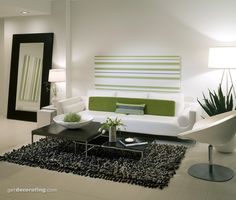 zen living room minimalistic