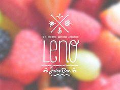 Leno Juice Bar Logo