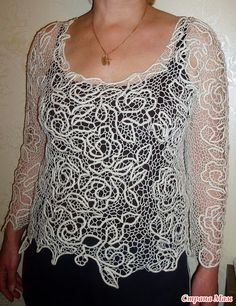 Point Lace, Irish Lace, Lace Making, Lace Design, Irish Crochet, Tatting, How To Make, How To Wear, Handmade