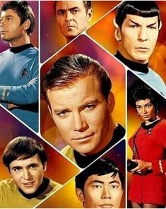 The Original Star Trek Cast. Star Trek Theme, Star Wars, Star Trek Characters, Star Trek Movies, Trinidad, Star Trek Wedding, Akira, Star Trek Cast, Star Trek 1966
