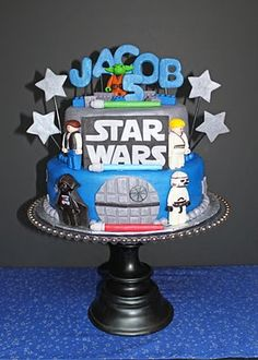Star Wars cake and great star wars party ideas