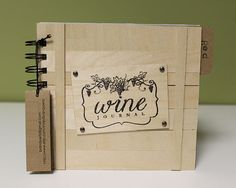 Wine Journal via Etsy