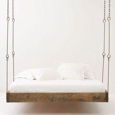 Fancy - Barnwood Hanging Bed