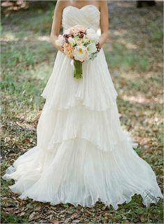 Eco Chic Wedding Dress Lauren By Lindee Daniel | Bridal Musings