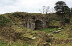 My ancestral home, home of the O'Sullivan Beara.  Ireland: County Cork - Beara Peninsula: Remains of Dunboy Castle, near Castletownbere