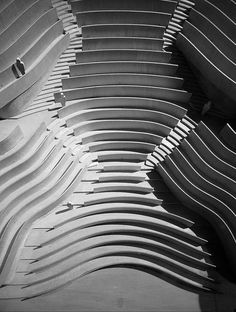 jørn utzon, architect, zürich theatre, 1964-c.1970, auditorium model by seier+seier, via Flickr