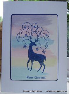Crafty Salutations: Rudolf Day for June