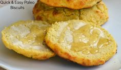 Quick & Easy Paleo Biscuits